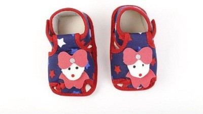 CHHOTE JANAB Baby Girls, Baby Boys Red Sandals