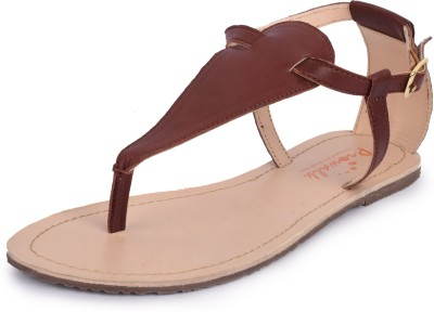 PROWALK Women Brown Flats