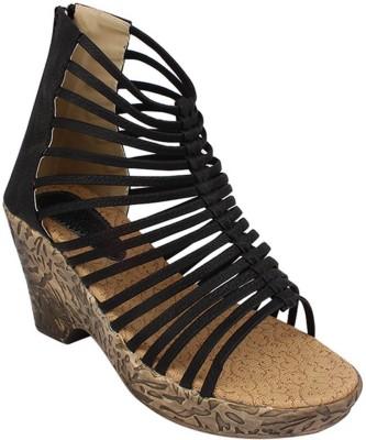 NE Shoes Women Black Heels