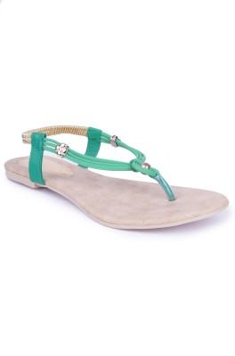 Starchi Women Green Flats