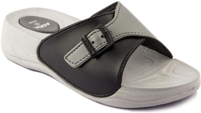 Adda Fantasy Women Black, Grey Flats