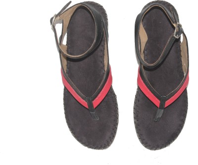 Mellofic Women Black Flats