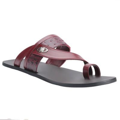 Shoe Bazar Men Maroon Sandals