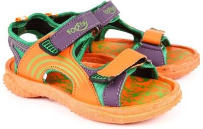 Footfun By Liberty Boys Orange Sandals