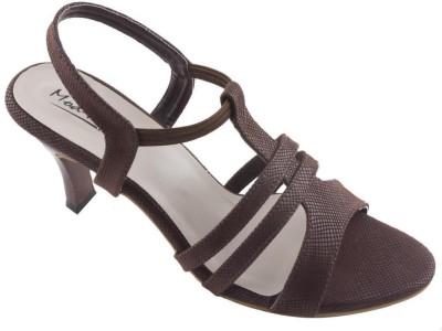 Mod-Inn Women Brown Heels