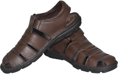 Jenfars Men Brown Sandals