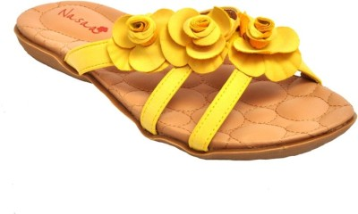 Naysaa Women Yellow Flats