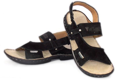 ADX Men Black Sandals