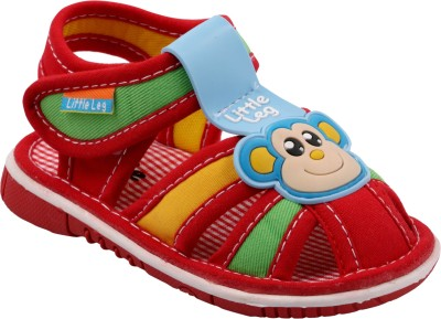Offspring Baby Boys Red Sandals