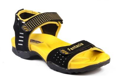 Fentacia Men Yellow Sandals
