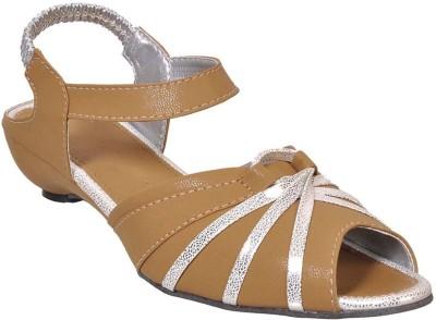 Fescon Women Beige Sandals