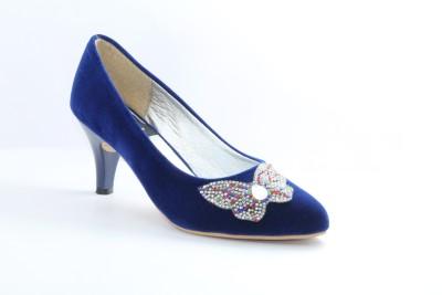 Fabrico Via Girls Blue Sandals