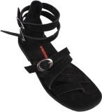 Stiletto Men 001,Black Sandals