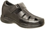 Celby Men Black Sandals