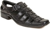 Kosher Men Black Sandals