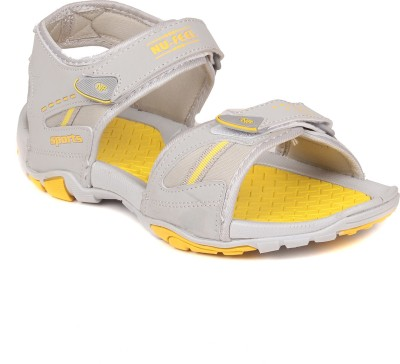 SCANTIA Boys Grey, Yellow Sandals