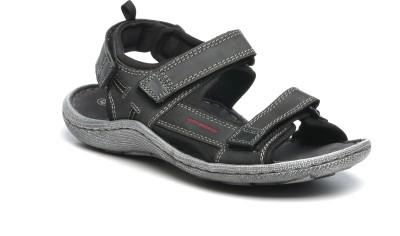 Pavers England Men Black Sandals
