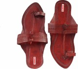 Sushito Men Brown Sandals