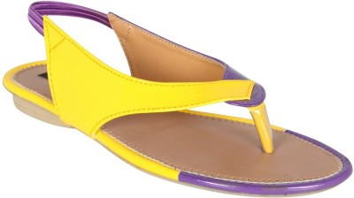 Style Her Women Yellow Flats