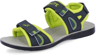 Pu Lite Men Blue, Green Sandals