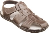 Hurdler Men Dark Brown Sandals