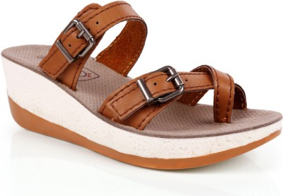 INTOTO Women Camel Wedges