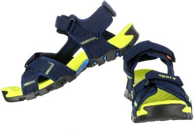 Sparx Men Navy Blue Sandals at flipkart