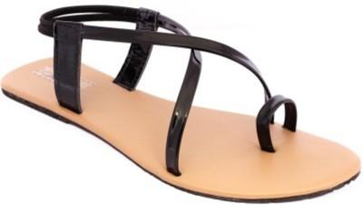STEP INDIA Women Black Flats