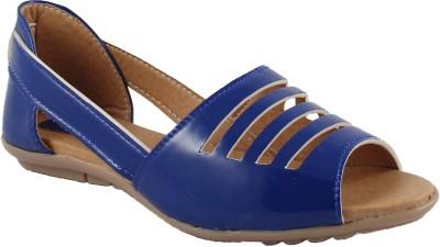 Cute Fashion Women Blue Flats