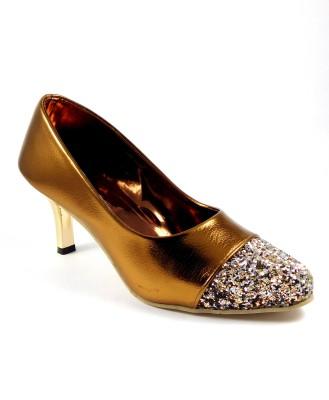 Indiano Women Golden Heels