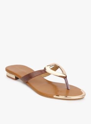 Addons Women Brown Flats