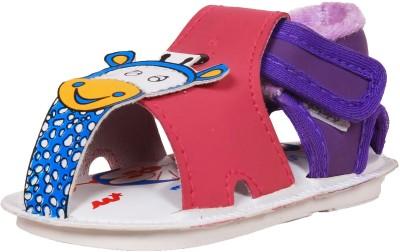 Ole Baby Baby Boys Purple Sandals
