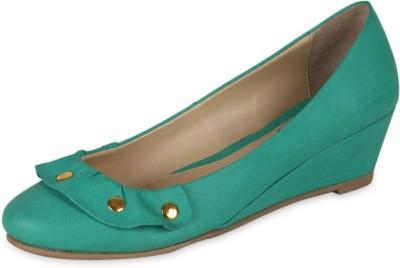 Amica Slexia Women Green Wedges