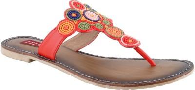 Footsy Women Red Flats