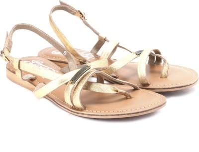 Superdry Basic Women Gold Flats