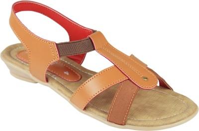 Florish Women Orange Flats