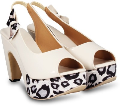 Anand Archies Women White Heels