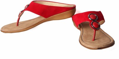 Bluebees Women Red Wedges
