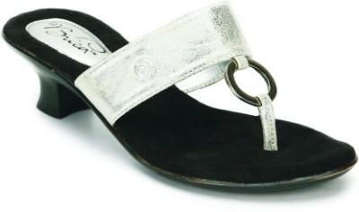 La Briza Priya Women Silver Heels
