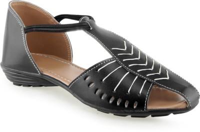 Martina Women Black Flats