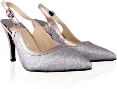 Touristor Culprit Women Silver Heels