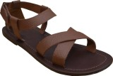 Suri Leather Men Brown Sandals