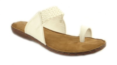 Lsquad Slip-On Women White Flats