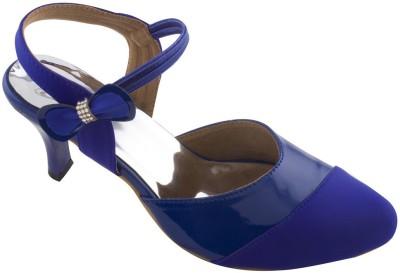 Mod-Inn Women Blue Heels