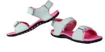 Elligator Women Pink Sports Sandals