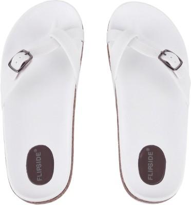 Flipside Women White Flats