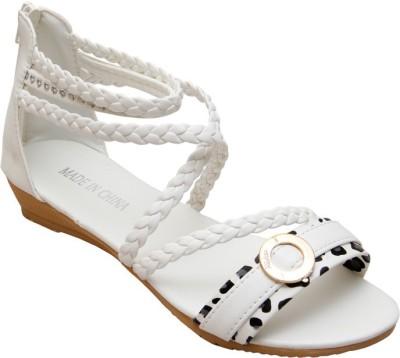 Gadget White Formal Women White Flats