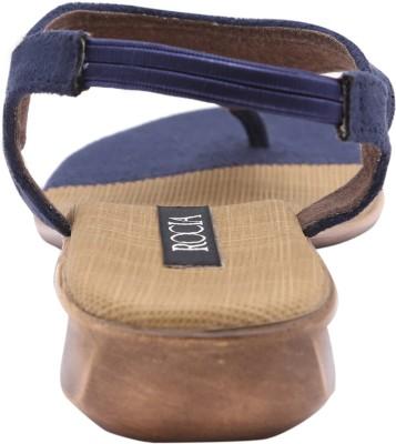 Rocia Women Blue Heels