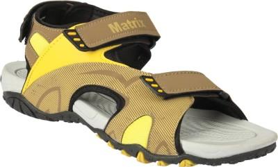 Matrix Men Beige Sandals