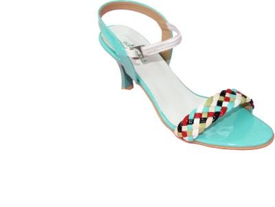 Florentyne Women Blue Heels